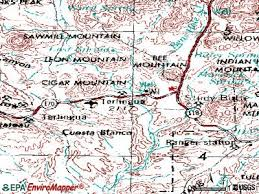 where is terlingua on a map terlingua map my