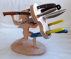 Cool Knife Block Knife Block 5 Steps With Pictures