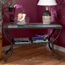 Ashley Bedroom Set With Marble Top Slate Top Sofa Table By Signature Design By Ashley Wolf And