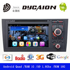 android 5 0 1 stereo for audi a6 gps navigation multiplayer audio