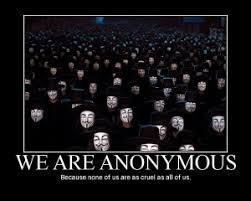 Usted puede estar ayudando a Anonymous, sin saberlo,