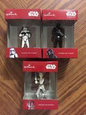 star wars christmas ornaments ebay
