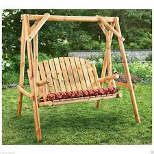 backyard wood swing backyard and yard design for village