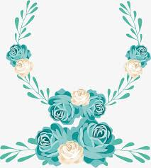 wedding flowers drawing painted wedding flower door decoration