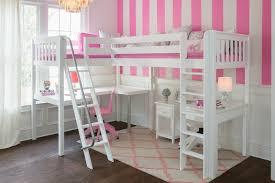 Kids Corner Desk White Beautiful U0027s Bedroom With White Corner Loft Maxtrix