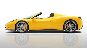 ferrari yellow wallpaper side view of a yellow ferrari 458 wallpapers and images