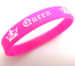 pink silicone bracelet images 2pcs king and queen lovers couples silicone bracelets her king his jpg