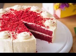 red velvet cake recipe from scratch youtube