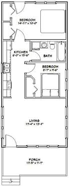 house floor plan 18x40 tiny house 18x40h2k 720 sq ft excellent floor plans