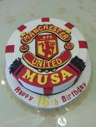 manchester united football stadium trafford cakes