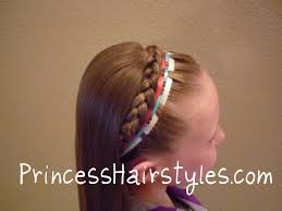4th of july headband fourth of july hairstyle ribbon headband hairstyles for