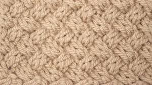 how to knit the diagonal basket weave knit stitch pattern studio