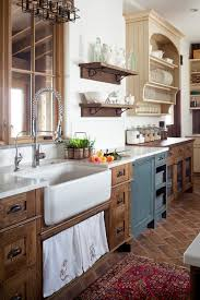 oak cabinets kitchen ideas 11 stunning farmhouse kitchens that will you want wood cabinets