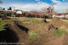 Bmx Backyard Dirt Jumps Collin Hudson Rich Vossler Photography