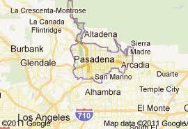 pasadena ca map foothill fence company serves pasadena ca