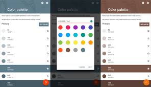 color scheme maker android how to create custom palette with custom color for