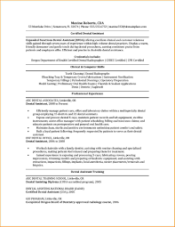 8 dental assisting resume worker resume