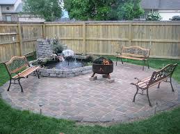 patio ideas brick patio fire pit pictures scottish masonry fire