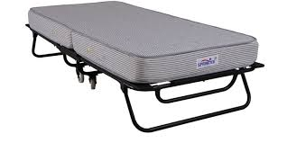 Folding Bed Mattress Buy Roll Away Folding Space Saving Bed With Free 6 Inch Foam