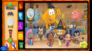 halloween game party bubble guppies halloween game party inside the classroom youtube