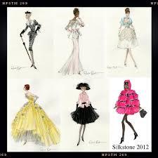 silkstone sketches from robert best dutch fashion doll world