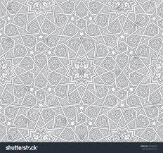 islamic ornament grey vector background stock vector 287442827