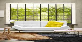 canapé droit design 8 canapés déco pour un salon design deco cool