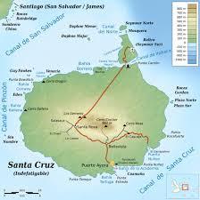 Galapagos Map Isla Santa Cruz Galapagos Islands Maplets
