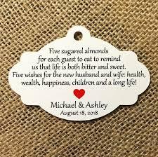 italian wedding favors new wedding 21 best almond tags images on italian wedding