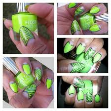 haute nails with floss gloss con limón fre h unique dope nails