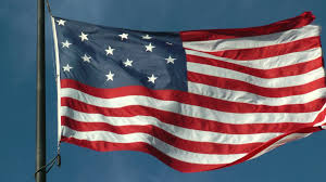 Star Flags Real 15 Star American Flag Star Spangled Banner Flag Stock Video
