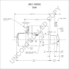 ms1 400ex starter motor product details prestolite leece neville