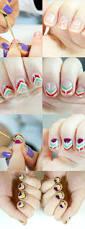 152 best nail tutorials images on pinterest make up nail art