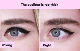 Eye Liner how to apply liquid eyeliner 7 mistakes to avoid