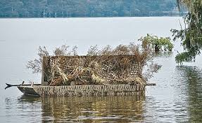 Floating Duck Blinds Photos Top Boat Blinds For Waterfowl Hunters