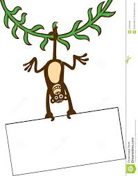 a happy monkey u0027s swinging on a clipart panda free clipart images