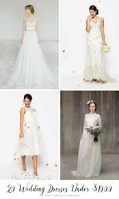 Budget Wedding Dresses 20 Beautiful Wedding Dresses Under 1000 That Look Anything But