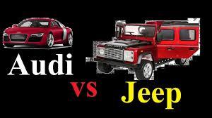 dalam kereta range rover jeep vs audi mana lagi kuat youtube