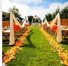 Fall Wedding Aisle Decorations - 40 ways to decorate your ceremony aisle preston bailey preston