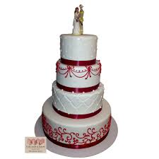 firefighter wedding 1525 4 tier fireman wedding cake abc cake shop bakery