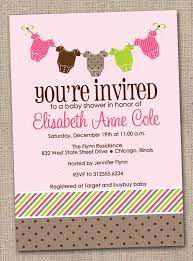 baby shower invitation wording ideas with pink baby shower ideas