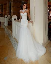 mermaid style wedding dresses lace backless mermaid wedding dresses naf dresses