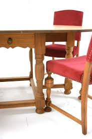 cing chair with table gateleg table solid light oak danish homestore