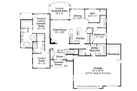 floor plans with great rooms ranch house plans creek 30 878 associated designs