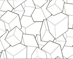 geometric blocks design coloring pages vintage days of our lives