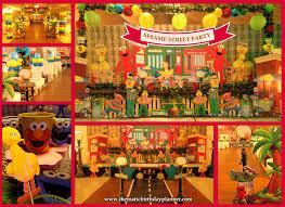 sesame birthday sesame 1st birthday party ideas theme planner in pakistan