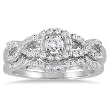 overstock wedding ring sets 32 best rings images on bridal rings bridal ring sets