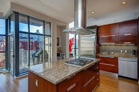 kitchen island with range contemporary kitchen with ceramic tile flush light in washington