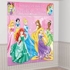 Disney Princess Party Decorations Princess Party Wall Decorations Tavoos Co