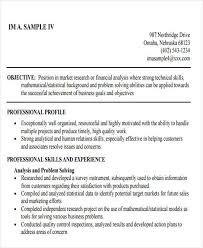 Business Resumes Examples by 50 Business Resume Examples Free U0026 Premium Templates